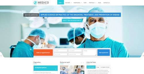 diseño web para centros médicos y clínicas