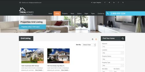 web para immobiliarias