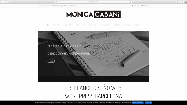 Web Mònica Cabaní
