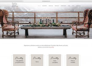 Web con catálogo Prettydaysplanner Tienda online Woocommerce