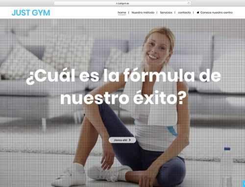 Web Just gym