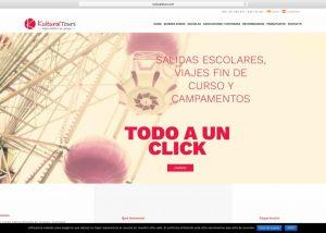Web con catálogo Kultural Tours Tienda online Woocommerce