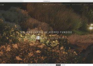 Tienda Online Balizas Jardín Agencia diseño web barcelona