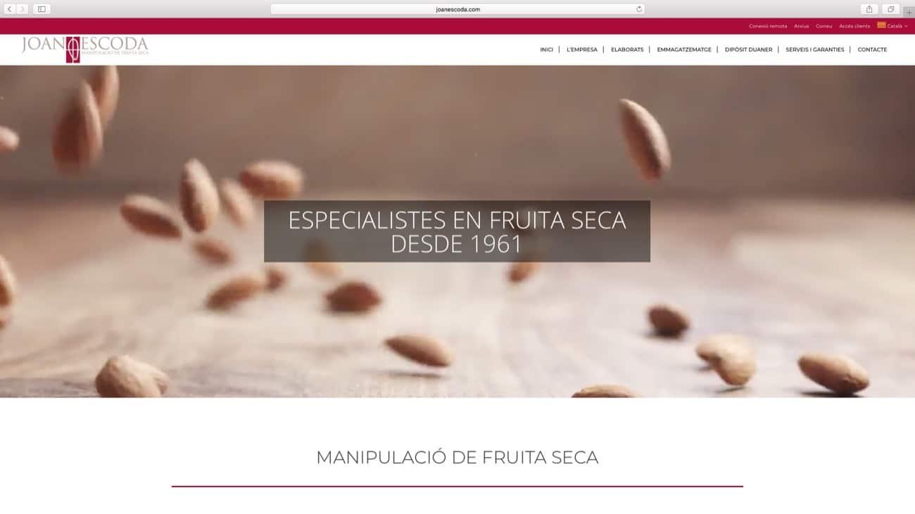 Diseño Web Joan Escoda