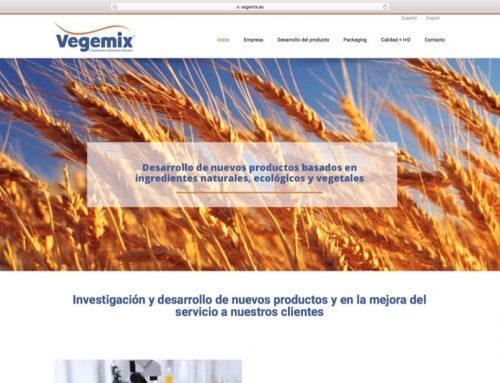 Diseño Web Vegemix