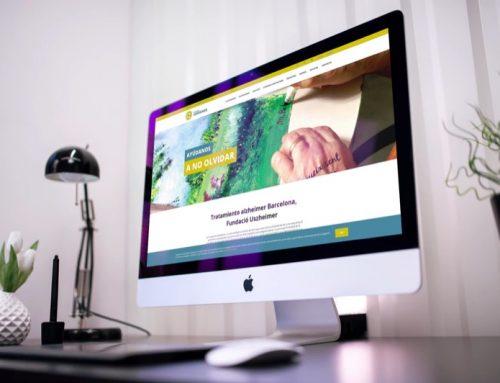 Página Web Fundación de Alzheimer